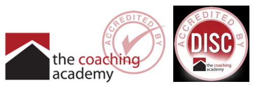 Susan has the following coaching certifications from The Coaching Academy and DISC Profiling